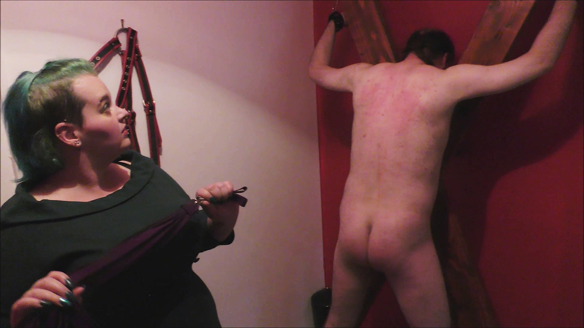 Princess Dahlia a correctional flogging