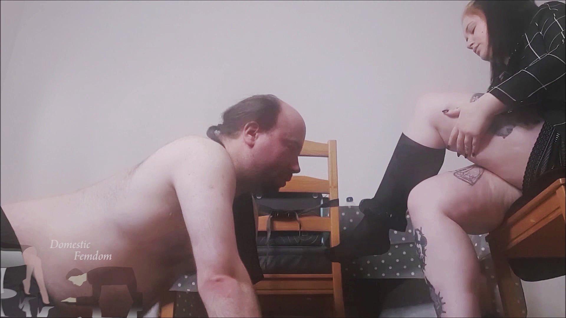 stocking1 - A Stocking and Foot Reward